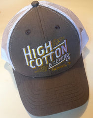 High Cotton Brewing Mesh Trucker Cap