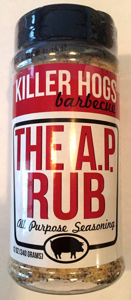 Killer Hogs The A.P. Rub All Purpose Seasoning 12oz