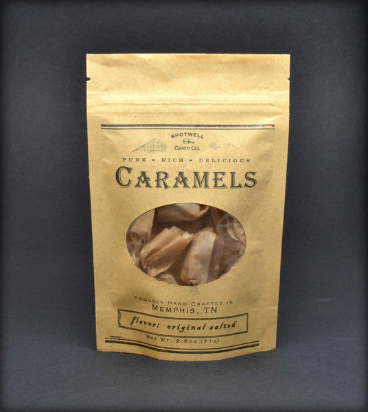Shotwell Candy Co. Traditional Tennessee Caramels 2.5oz
