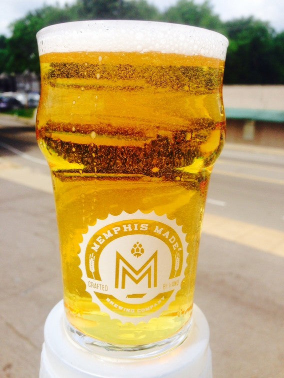 Memphis Made 20oz English Pint Glass