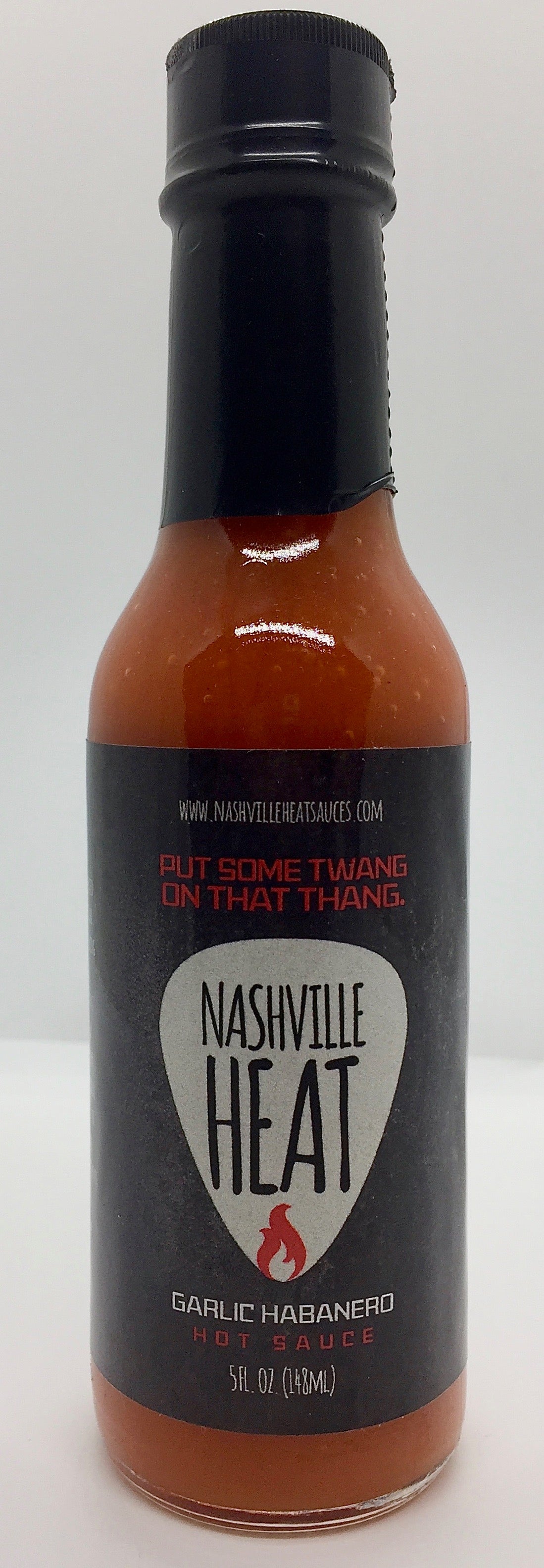 Nashville Heat Garlic Habanero Hot Sauce 5oz