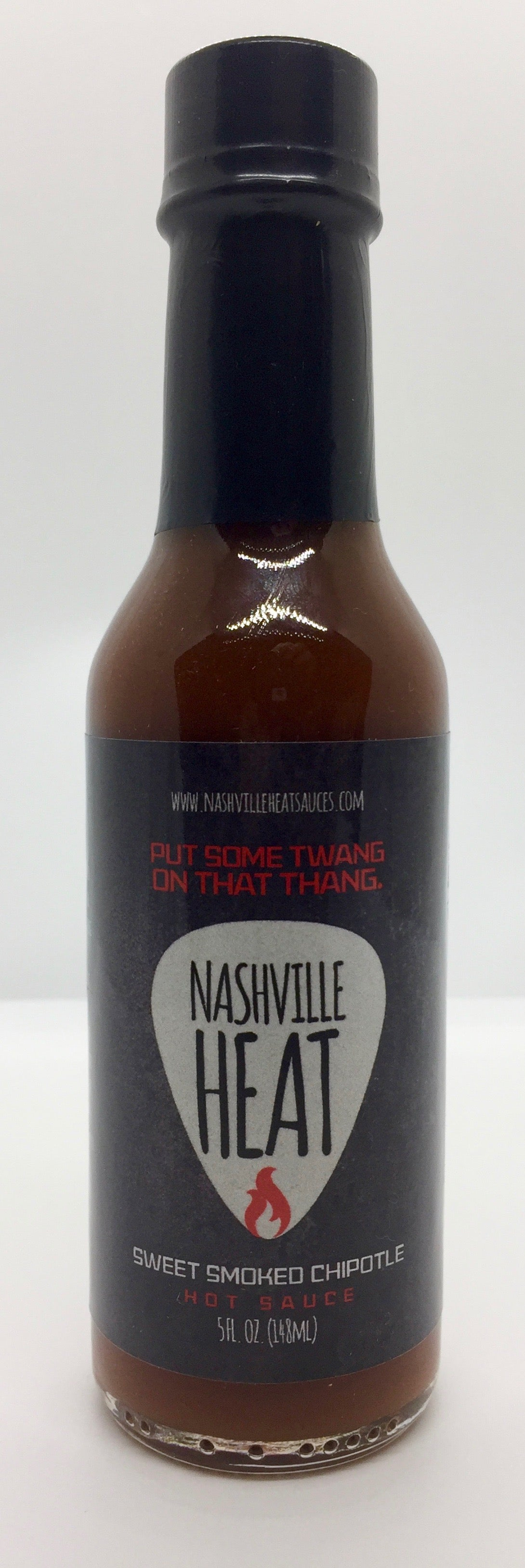 Nashville Heat Sweet Smoked Chipotle Hot Sauce 5oz