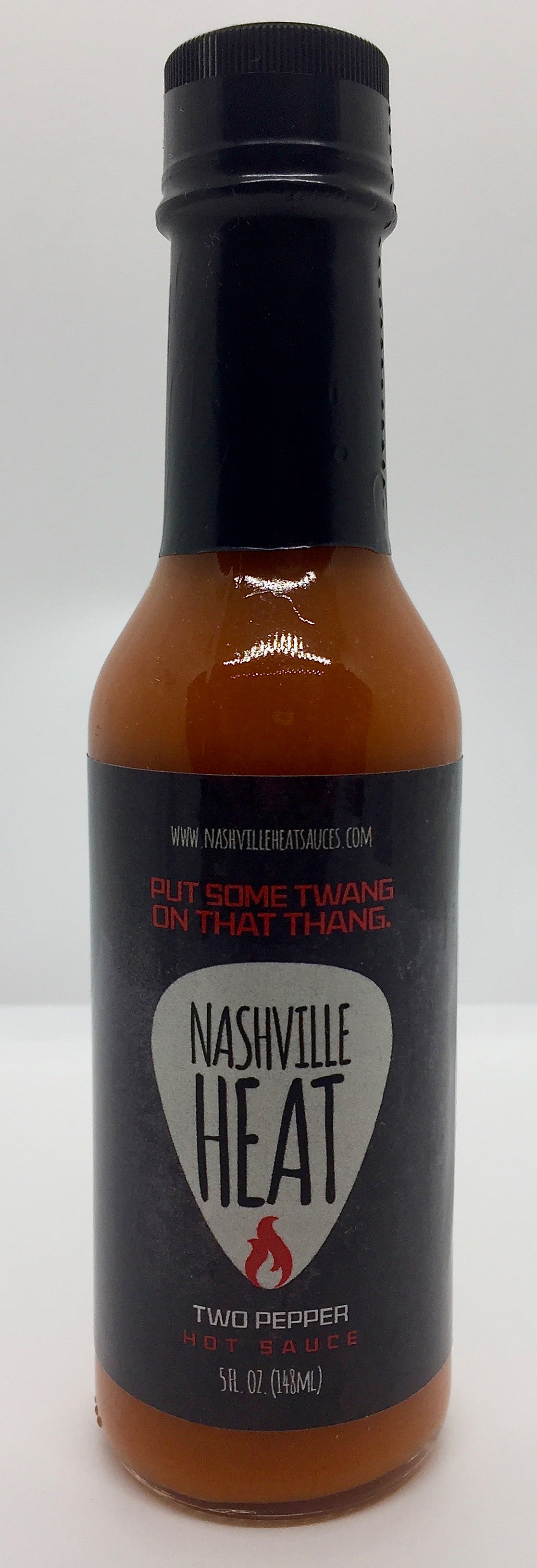 Nashville Heat 2 Pepper Hot Sauce 5oz