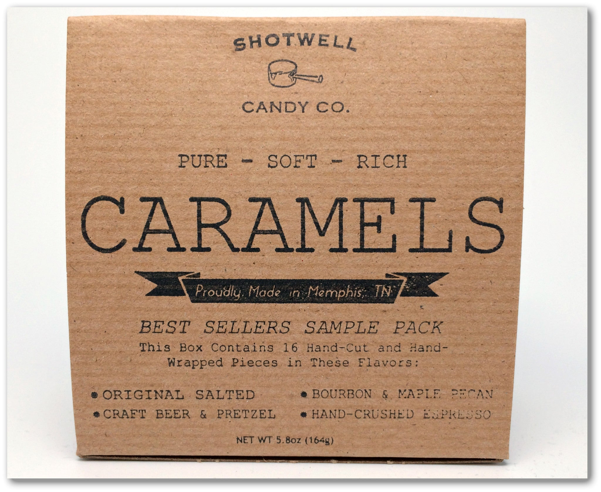 Shotwell Candy Co. Caramel Sampler Box