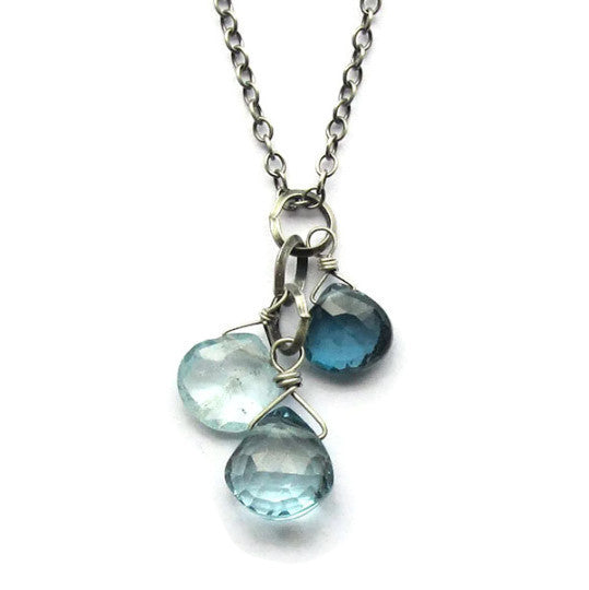 Tasi Julia Aquamarine necklace