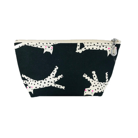 Small Make-up Bag Snow Leopard