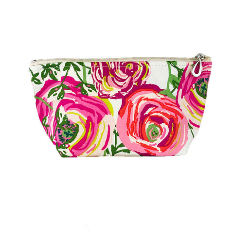 Small Cosmetic Bag Rose
