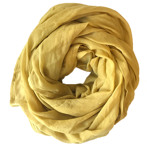 Mustard Solid Scarf