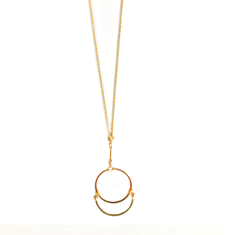 Eclipse Gold Fill Necklace