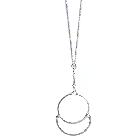 Eclipse Silver Necklace