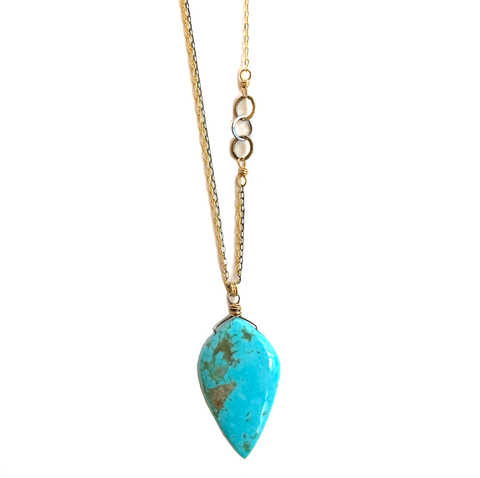 Julia Turquoise Necklace