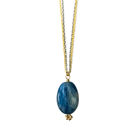 Kellen Kyanite Necklace