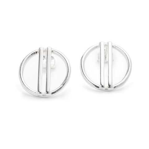 Liv stud earrings silver