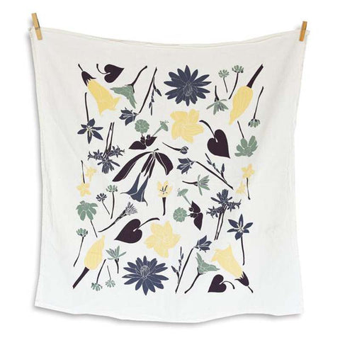 Moon Garden Tea Towel