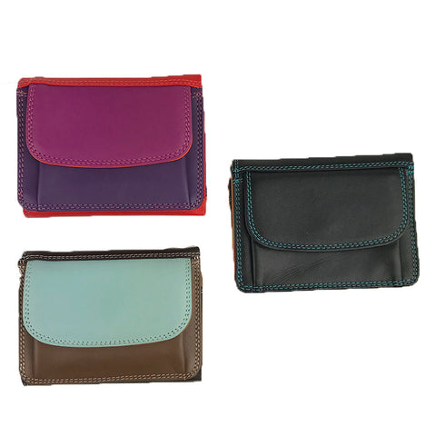 Small Tri-Fold Wallet - Multiple Colors