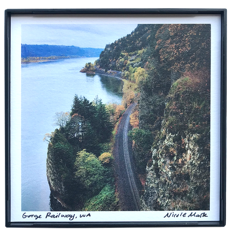"4x4"" Columbia River Gorge Railway"