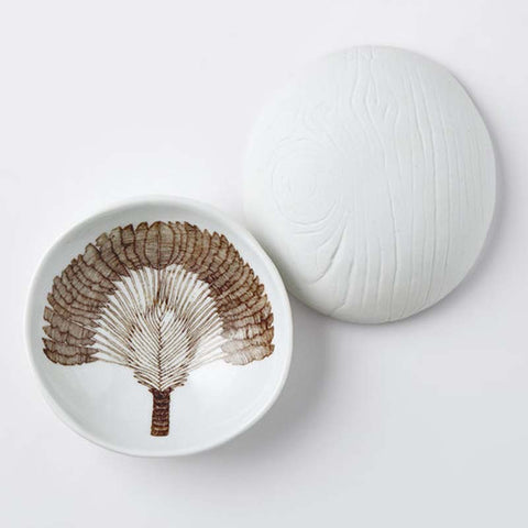 Woodgrain Dish Traveler's Palm