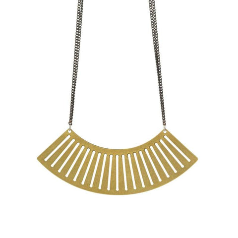 Sona Necklace-Brass