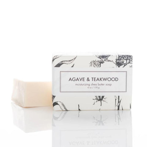 Agave & Teakwood Shea Butter soap