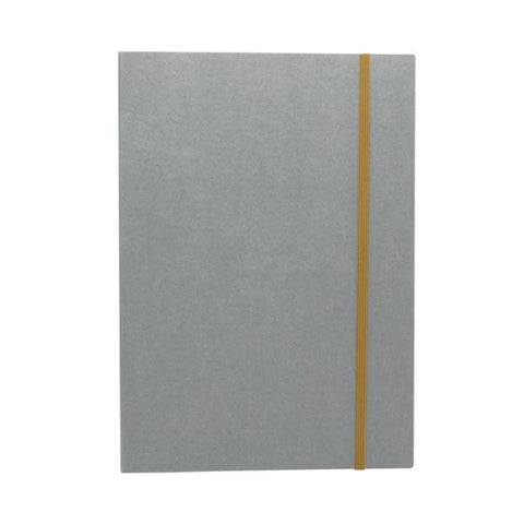 Accordion Plain/Graph Paper Notebook Large (A4): Ash