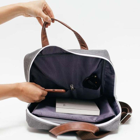 Zippered Backpack: Sierra