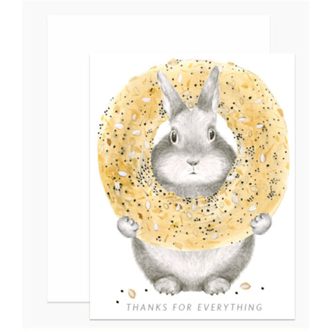THANK YOU: Bagel Bunny