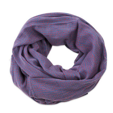 Beckett Blue Scarf