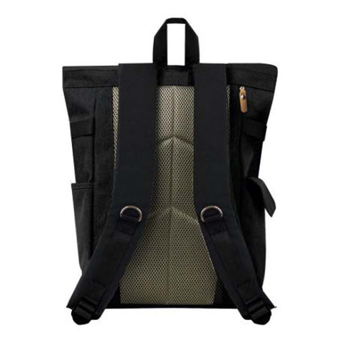 Rolltop Backpack Plus Black