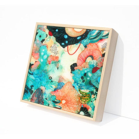 Brio 6x6 Resin Coated Wood Panel Print