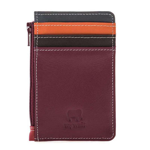 Credit Card Holder with Coin Purse (Chianti)