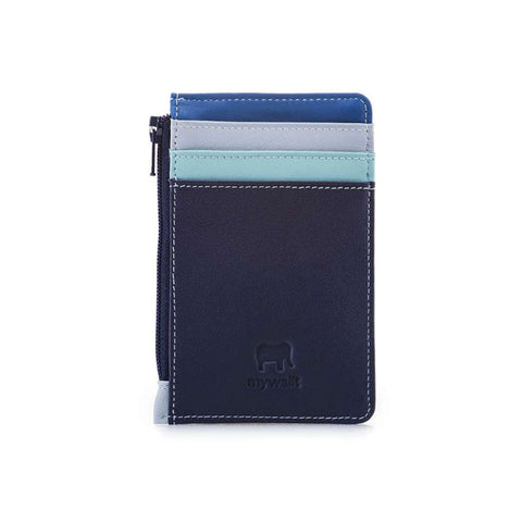Credit Card Holder with Coin Purse (Denim)