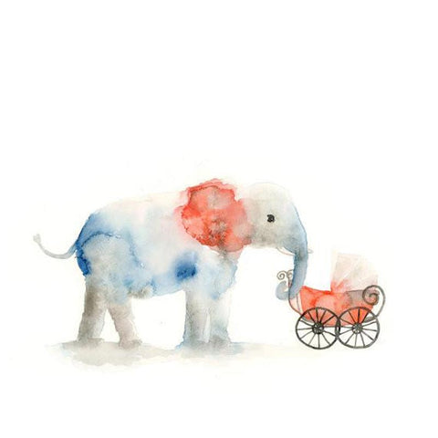 Elephant & Baby Carriage