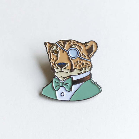 Dapper Cheetah pin
