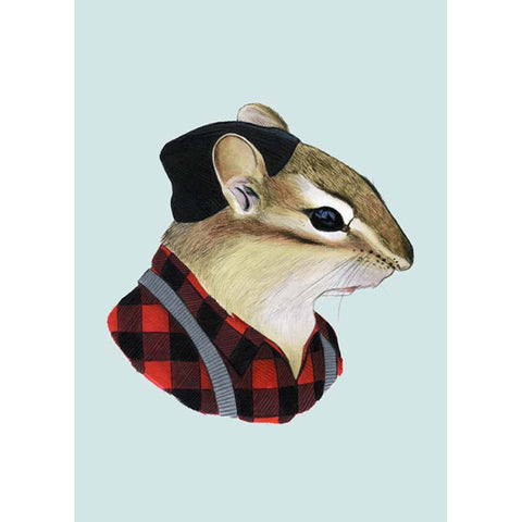 Berkley Illustration: Print - chipmunk