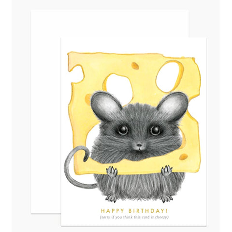 BIRTHDAY: Cheezy Mouse