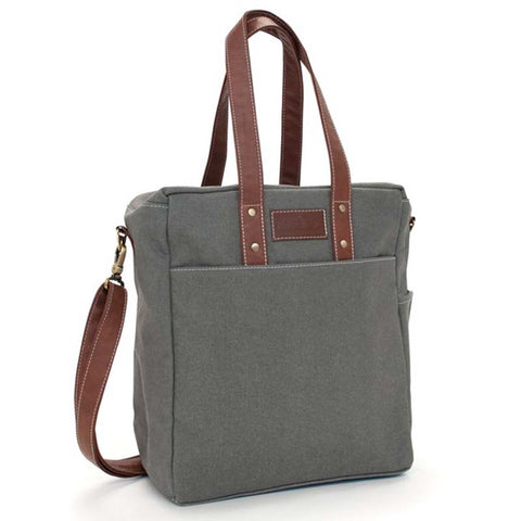 Commuter Tote: Waxed Ash