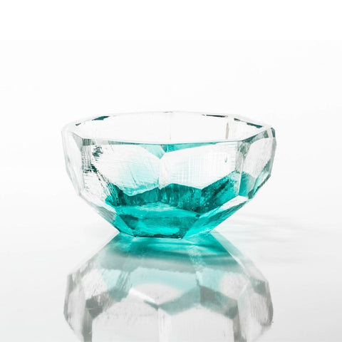 "Crystal Bowl 4.25"" Sea"
