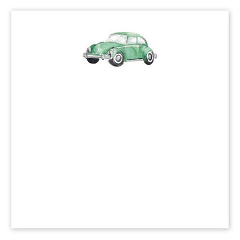 Punchbuggy Green Notepad