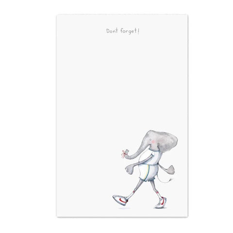 Elephants Never Forget Notepad