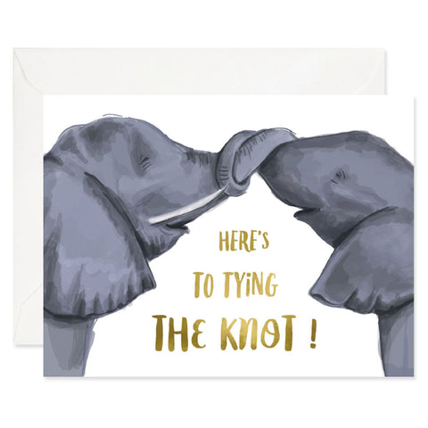 WEDDING: Knotty Elephants