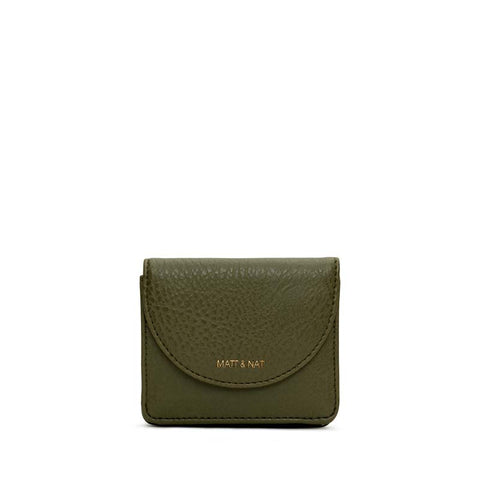 Farre Small Tri Fold Wallet Leaf