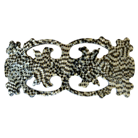 Filigree Barrette Serpentine