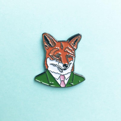 Fox Gentleman Pin