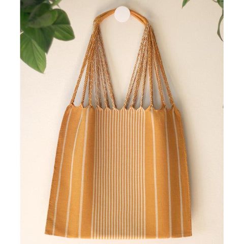 Woven Cotton Tote Golden Hour