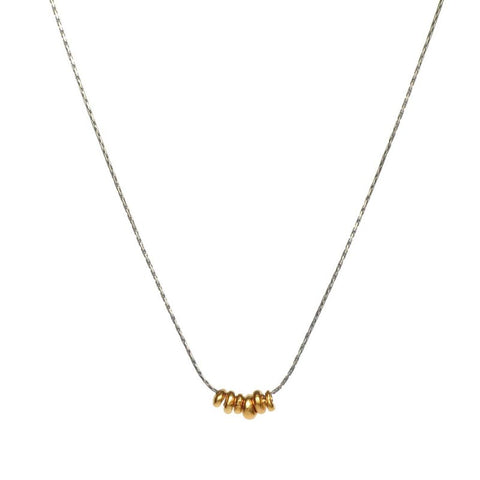 Hill Tribe Gold Necklace