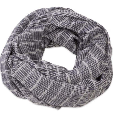 Granada Stripes Navy scarf