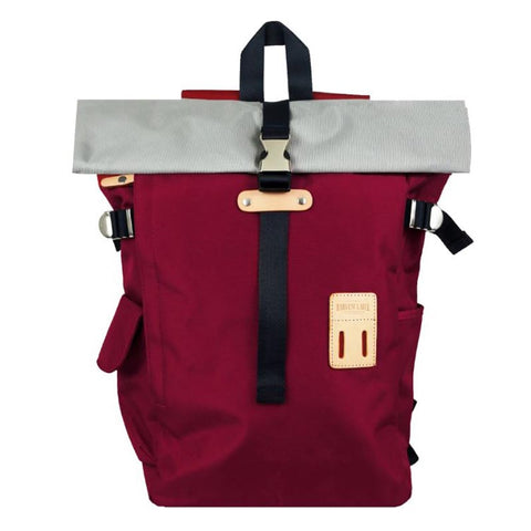 Rolltop Backpack 2.0 Burgundy