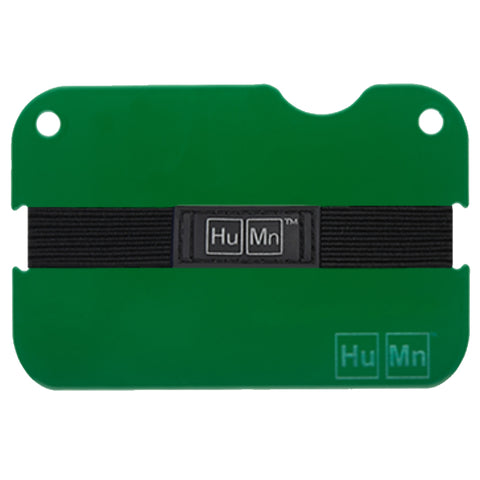 HuMn Mini RFID Blocking Wallet Forest Green