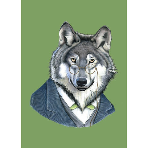 Berkley Illustration: Print - wolf