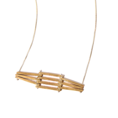 Levels Horizontal necklace